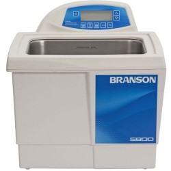 Branson Ultrasonics - CPX5800H - Ultrasonic Cleaner with Digital Timer Plus Digital Heat Control, 2-1/2 Gallon
