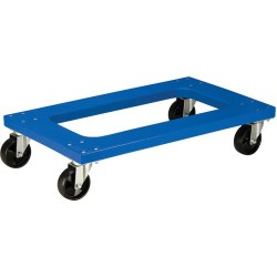 Akro-Mils / Myers Industries - RMD3018F4PN - Blue Flush Polyethylene Dolly with Casters