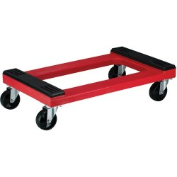 Akro-Mils / Myers Industries - RMD3018RC4PN - Red Padded Polyethylene Dolly with Casters
