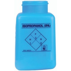 Menda / Desco - 35266 - Static Dissipative durAstatic Dispenser Bottle, Printed IPA, Blue, 6 oz.