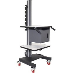 IAC Industries - QS2052003 SMS-S3 - Mobile Workstation Cart
