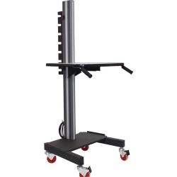 IAC Industries - QS2052011 SMS-S6 - Mobile Workstation Cart, 40 H