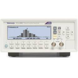 Tektronix - FCA3000 - Frequency Counter, 400 MHz, 0.001Hz to 400MHz, 14 Digits, 25 mVrms, FCA3000 Series