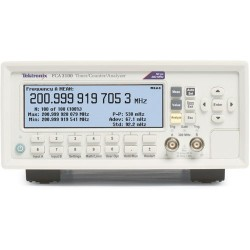 Tektronix - FCA3100 - Frequency Counter, 400 MHz, 0.001Hz to 400MHz, 14 Digits, 25 mVrms, FCA3100 Series