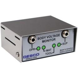 Desco - 19241 - Body Voltage Monitor, North American Plug