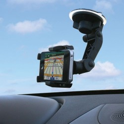 PanaVise - 15504 - PanaVise PortaGrip 15504 Vehicle Mount for Smartphone, iPhone - 2.3 to 3.8 Screen Support - Foam