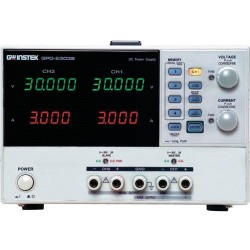 Instek - GPD-2303S - 2-Channel, 180W Programmable Linear DC Power Supply