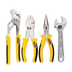 Stanley / Black & Decker - 84-558 - 4-Piece Bi-Material Plier Set