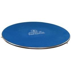 Desco - 07604 - Turntable, Benchtop, Gyro-Stat, ESD Safe, Stainless Steel, 18.75 Diameter