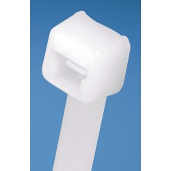 ACT Fastening Solutions - AL-04-18-9-C - ACT Miniature Cable Tie - Cable Tie - Natural