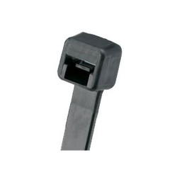 ACT Fastening Solutions - AL-06-18-0-C - ACT Miniature Cable Tie - Cable Tie - Black