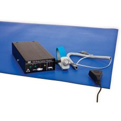 3M - 724K-WM11 - Dual-Wire 724 Workstation Monitoring Kit with Blue 2-Layer Rubber Table Mat