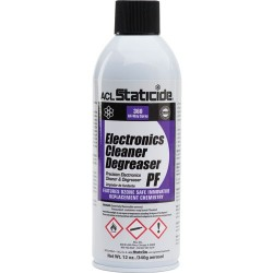 ACL Staticide - 8601 - Electronics Cleaner Degreaser PF, 12 oz. Aerosol Can (MOQ=6)