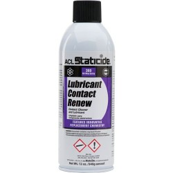 ACL Staticide - 8606 - Lubricant Contact Renew, 12 oz. Can (MOQ=6)