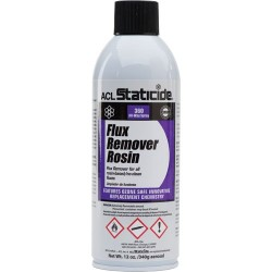 ACL Staticide - 8621 - Rosin and Rosin-Base No-Clean Flux Remover, 12 oz. Can