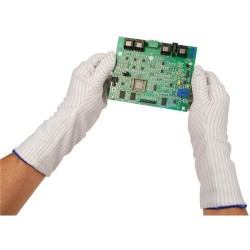 Desco - 17007 - ESD-Safe Hot Process Gloves, 14, Small, Pair