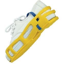 Desco - 04565 - Stat-A-Rest Foot Grounder, Yellow, Medium, Pair