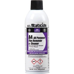 ACL Staticide - 8624 - A4 All Purpose Flux Remover and Cleaner, 12 oz Aerosol Can