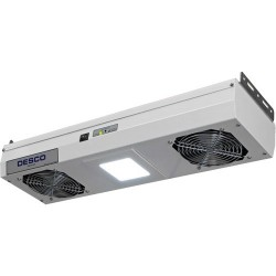 Desco - 60467 - 24 Chargebuster 2-Fan Overhead Ionizer with LED Lights