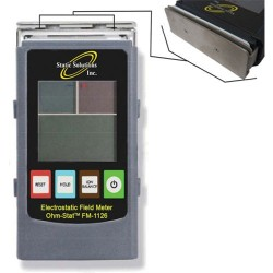 Static Solutions - FM-1126 - Digital Electrostatic Field Meter with Ionizer Balance/Polarity Attachment