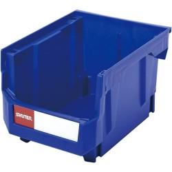 Shuter - 1010004 - Ultra Storage Nest and Stack Parts Bin, Blue, 8.3 x 10.7 x 7