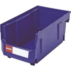 Shuter - 1010005 - Ultra Storage Nest and Stack Parts Bin, Blue, 8.3 x 14.8 x 7