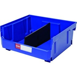 Shuter - 1010006 - Ultra Storage Nest and Stack Parts Bin, Blue, 16.5 x 14.8 x 7