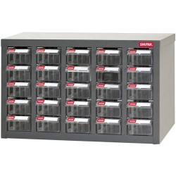 Shuter - 1010012 - Heavy Duty Steel Parts Cabinet with 25 Drawers