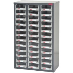 Shuter - 1010007 - Heavy Duty Steel Parts Cabinet with 36 Drawers