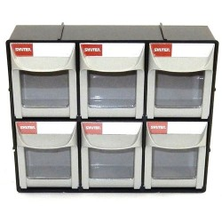 Shuter - 1010018 - Flip-Out Bins, 6 Bins/Cabinet