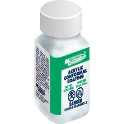 MG Chemicals - 419C-55ML - Acrylic Conformal Coating, Fast Cure, 2 oz. Brush Top Bottle (MOQ=5)