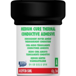 MG Chemicals - 8329TCM-50ML - Medium Cure Thermal Conductive Adhesive, Paste, 121 g Jars (Two Part)