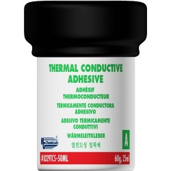 MG Chemicals - 8329TCS-50ML - Slow Cure Thermal Conductive Adhesive, Paste, 113 g Jars (Two Part)
