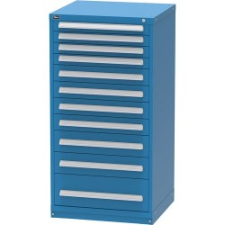 Lista - XRP3098AL - Cabinet with 11 Drawers and 204 Comparments, 59 H