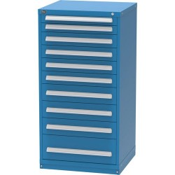 Lista - XSEP3126AL - Cabinet with 10 Drawers and 188 Comparments, 59 H