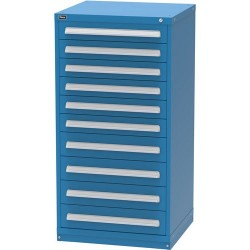 Lista - XSEP3110AL - Cabinet with 10 Drawers and 164 Comparments, 59 H