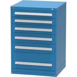 Lista - XSCU2076AL - Cabinet with 6 Drawers and 96 Comparments, 44 H