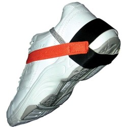 Transforming Technologies - HG1370 - Cup Style Heel Grounder, Stretch Velcro, Orange