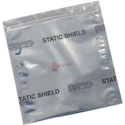 3M - 817Z35 - STATIC SHIELD Metal-In Bags, ZIP Top, 3 x 5, 100/Case