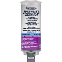MG Chemicals - 8329TCF - Fast Cure Thermally Conductive Adhesive, Paste, 50 ML Dual Syringe