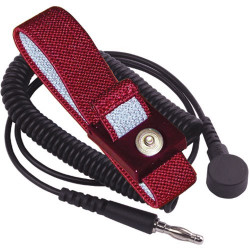 Transforming Technologies - WB2637 - Wrist Strap with 4mm Snap and 6 Cord