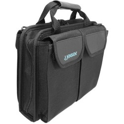 Jensen Tools - O4949JTBL - Cordura Compact Technician's Tool Case Only, Black