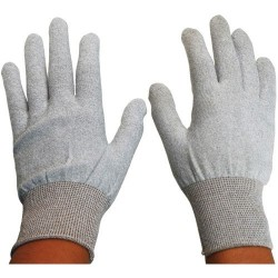 Desco - 68122 - Glove, Inspection, ESD Safe, Thunderon Fibre Carrier Yarn, Size L, 1 Pair