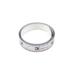 L.S. Starrett - SM66ME - Adhesive Tape Measure, 3/4 Width, 6/ 1.8M Length