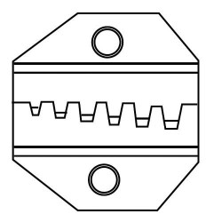 Eclipse Proskit - 300-097 - Lunar Series Die Set - Wire Ferrules AWG 22-12