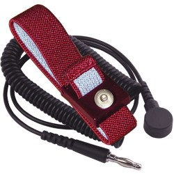 Transforming Technologies - WB2643 - Wrist Strap with 4mm Snap and 12 Cord