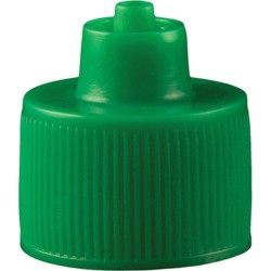 Jensen Global - JGC-512G-100 - Green 1 Ounce Luer Lock Bottle Cap, 100/Bag