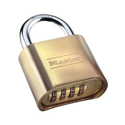 Master Lock - 175DHC - Resettable Set-Your-Own Combination Lock (MOQ=8)