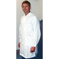 Tech Wear - 371ACQ-4XL - ESD-Safe Lab Coat, White, 4X-Large