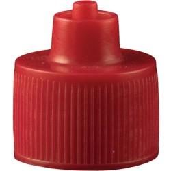 Jensen Global - JGC-512R - Red 1 Ounce Luer Lock Bottle Cap Sold as Each